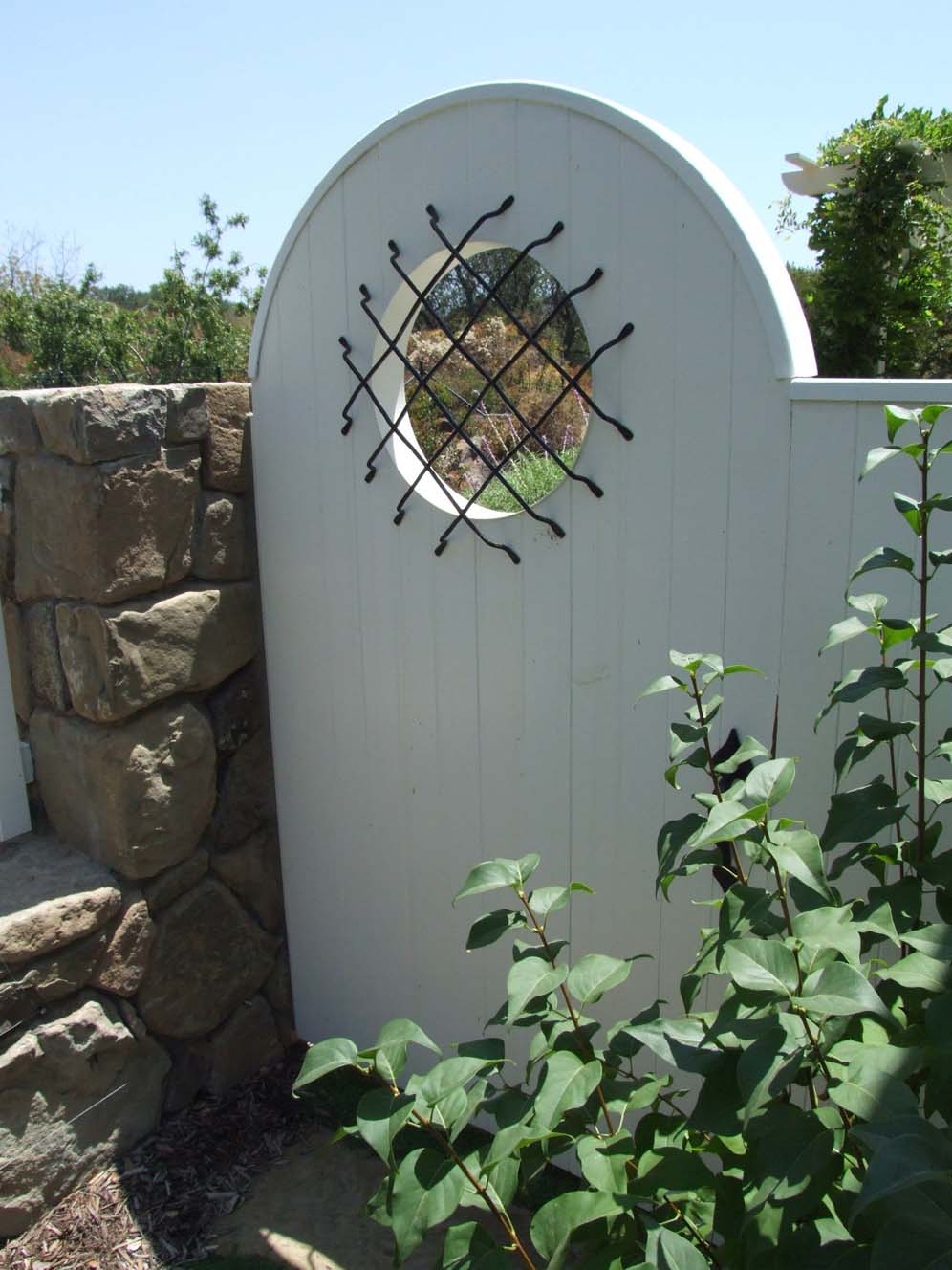 Large Peephole in Gate