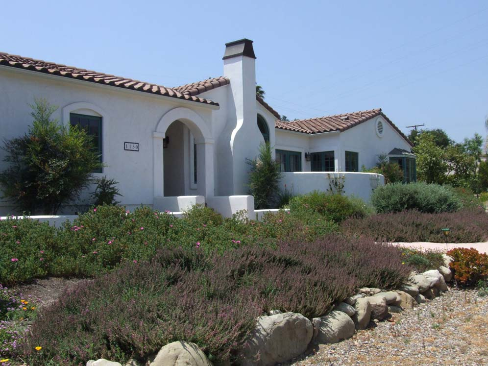 Spanish Style Home and Garden